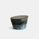「Untitled 」H:205 W:320 D:320 mm 陶土、酸化金属、釉薬 2021年