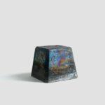 「Untitled 」H:215 W:255 D:255 mm 陶土、酸化金属、釉薬 2021年